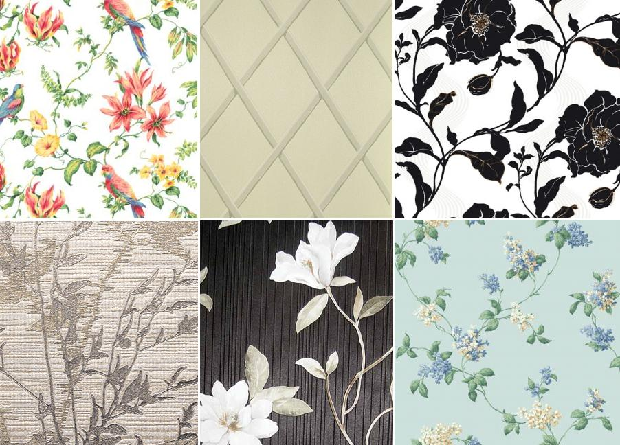 Papiers peints en vinyle: sélection et collage