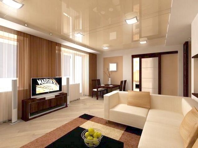 13 matériaux de plafond de salon