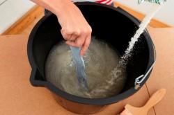 Processus de préparation de la colle à papier peint