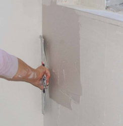 préparation des murs pour la peinture