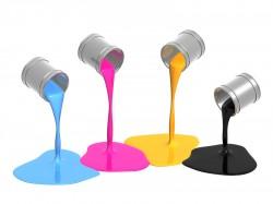 peintures alkyde multicolores