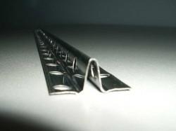 Phare en plâtre métallique