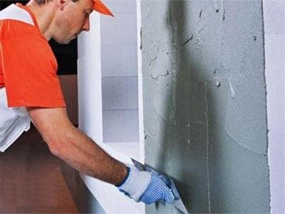 Plâtrage mural bricolage