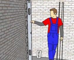 Plâtrage des phares pour le plâtrage des murs