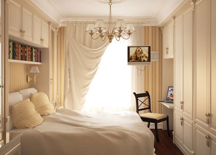 8 options de conception pour une petite chambre avec photo