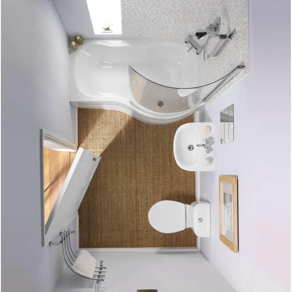 petit minimalisme de salle de bain