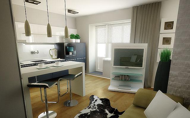 conception de petits appartements minimalisme 2