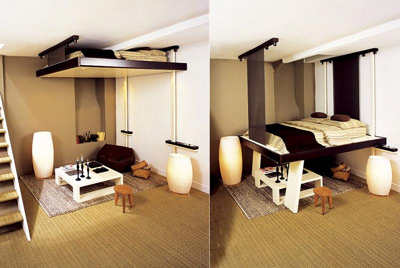 conception de petits appartements minimalisme 3