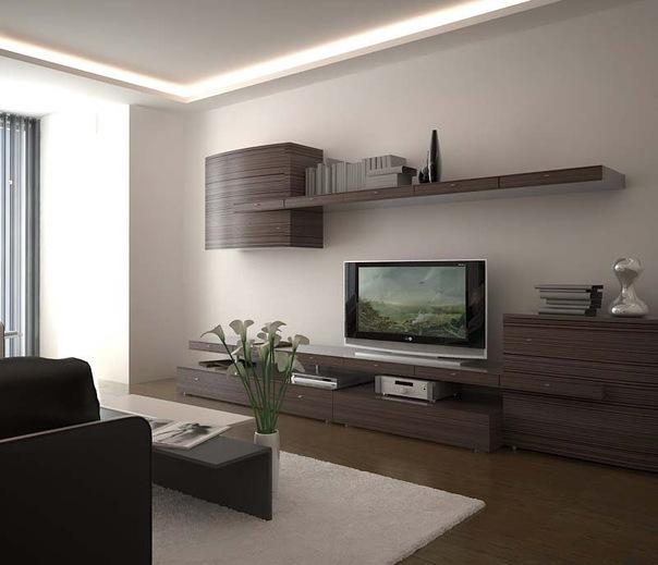 conception de petits appartements minimalisme