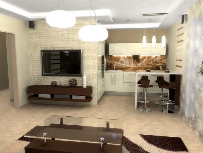 conception d'éclairage de petits appartements 3