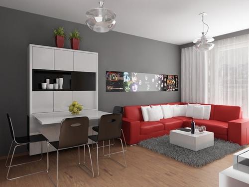 11 idées pour concevoir de petits appartements + photos