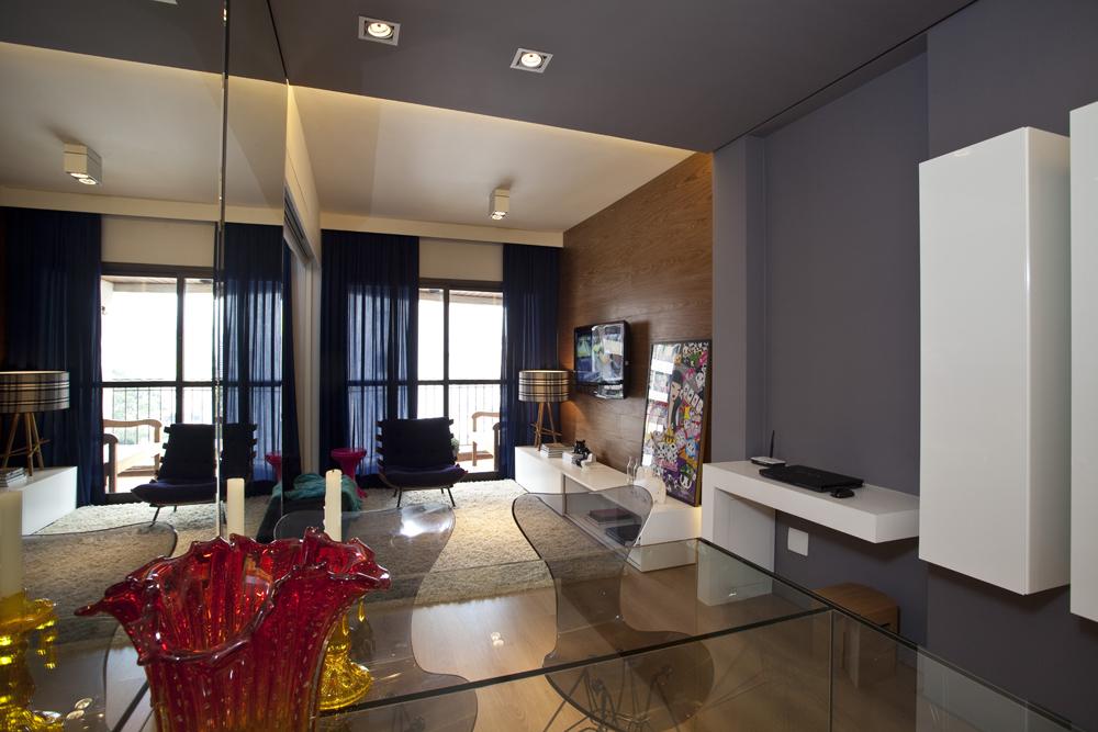 conception de petits appartements miroir 2
