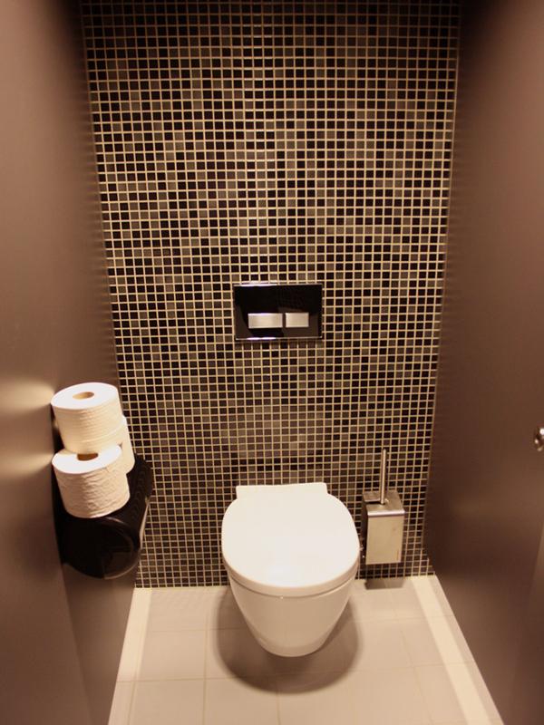 petite finition de toilette