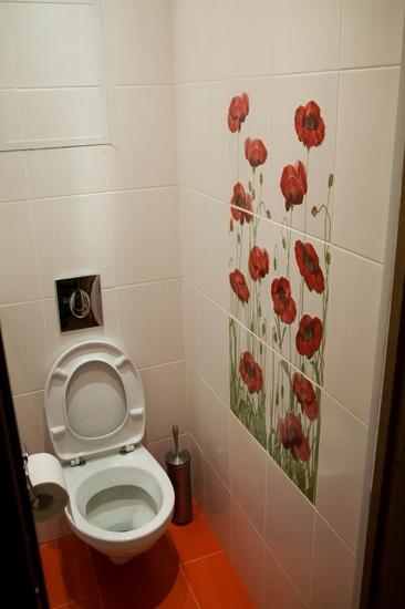 petits carreaux de toilette