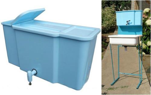 lavabo pour maison d'été 2