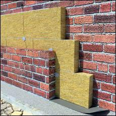 isolation des murs de la maison avec de la laine minérale 3