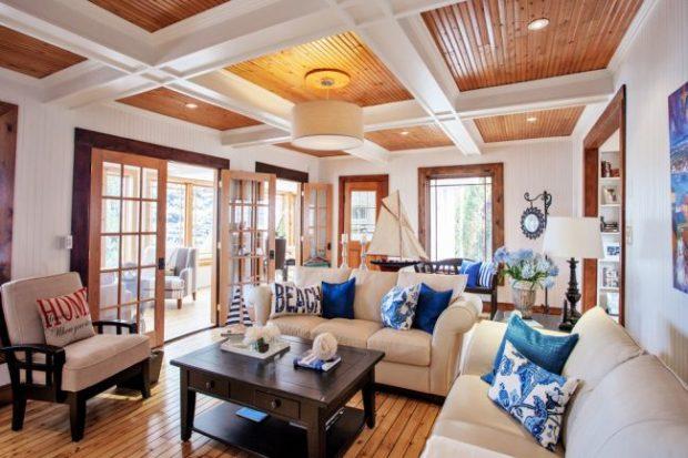 9 conseils pour choisir un plafond à caissons en bois, cloisons sèches, MDF et polyuréthane