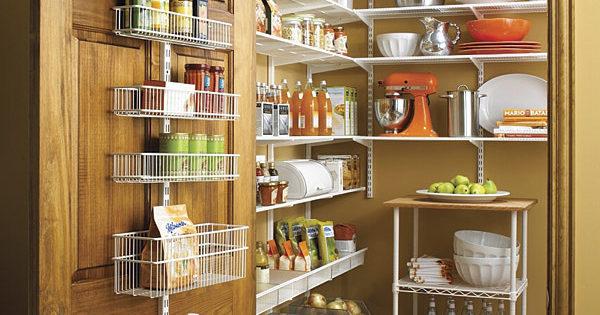 6 conseils pour organiser et concevoir un garde-manger dans un appartement + photo