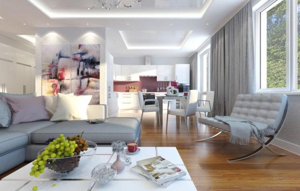 7 conseils pour augmenter le plafond inférieur de la maison: conception de plafonds bas + photos