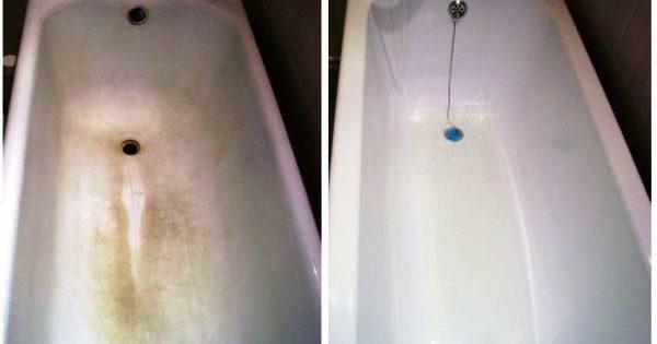 12 façons de nettoyer votre bain de la plaque et de la rouille à la maison