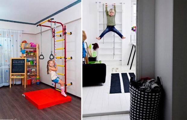 Complexe sportif pour enfants à la maison: 9 conseils pour choisir un coin sportif pour enfants