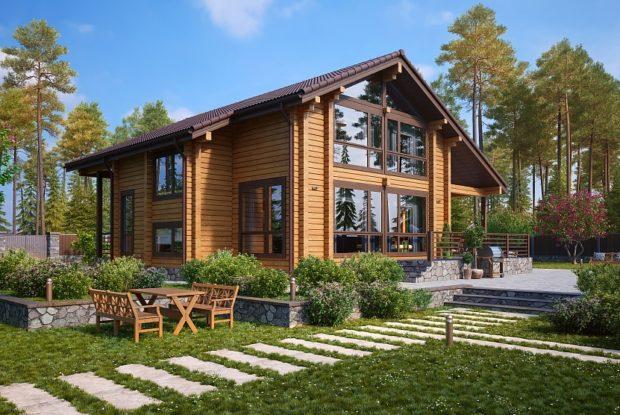 TOP 11 projets intéressants de maisons en bois