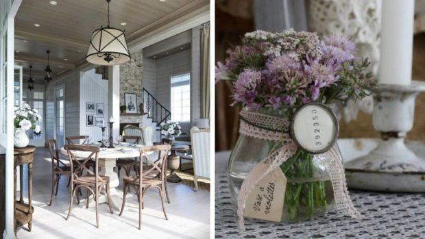 Style provençal à l'intérieur d'un appartement et d'une maison: 10 règles de base + photo