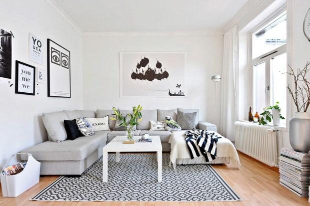 Style scandinave à l'intérieur d'un appartement et d'une maison: 9 conseils pour organiser + photo