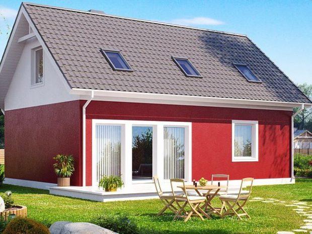 TOP 11 projets de maisons en blocs de mousse avec grenier