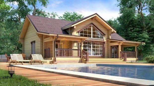 TOP 14 projets de maisons à partir de poutres collées