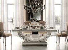 mobilier de salle à manger italien clair