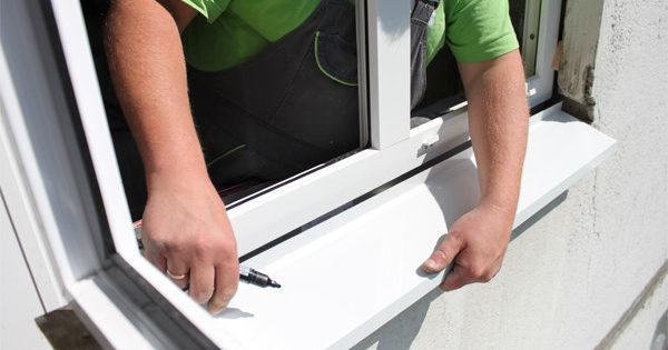 Ebbs pour fenêtres en plastique: sélection et installation