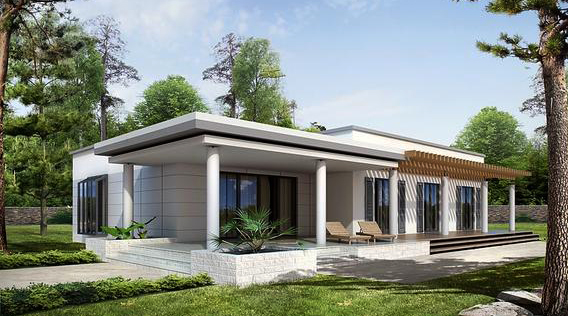TOP 10 des projets de maisons d'un étage avec garage