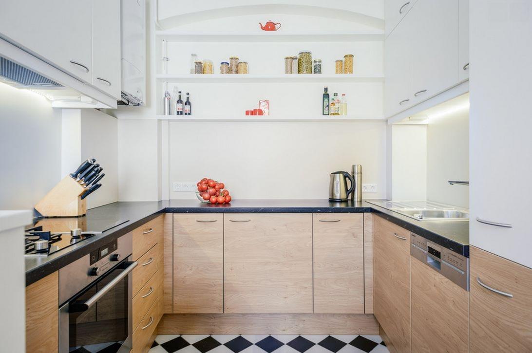 6 conseils de conception de cuisine sans fenêtre