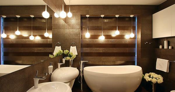 9 conseils pour éclairer la salle de bain: design, choix des luminaires