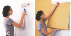 papier peint intissé comment coller