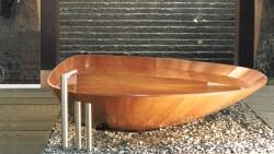 Baignoires en bois