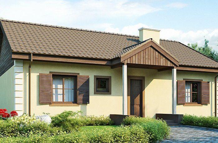 TOP 10: les meilleures conceptions de maisons jusqu'à 100 m² + photo