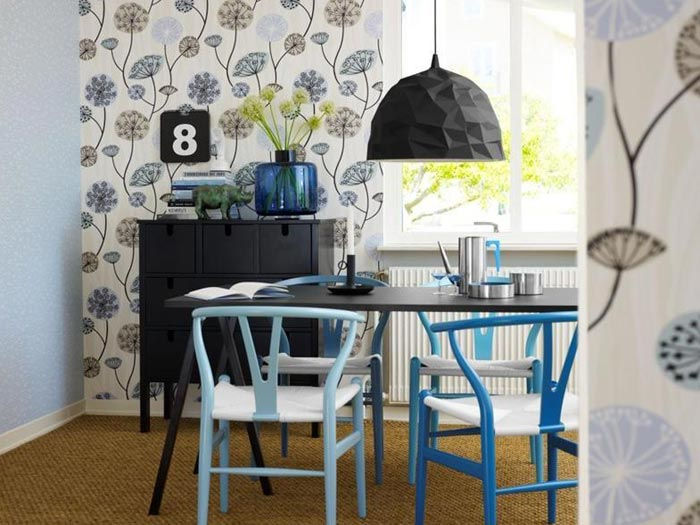 7 options de papier peint pour la cuisine