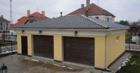 Comment bloquer le toit du garage: TOP 8 des matériaux