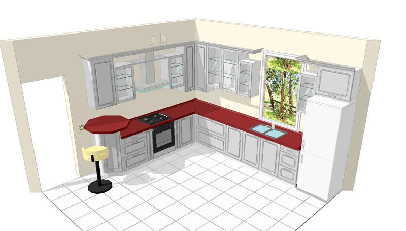 Étapes de réparation de la cuisine