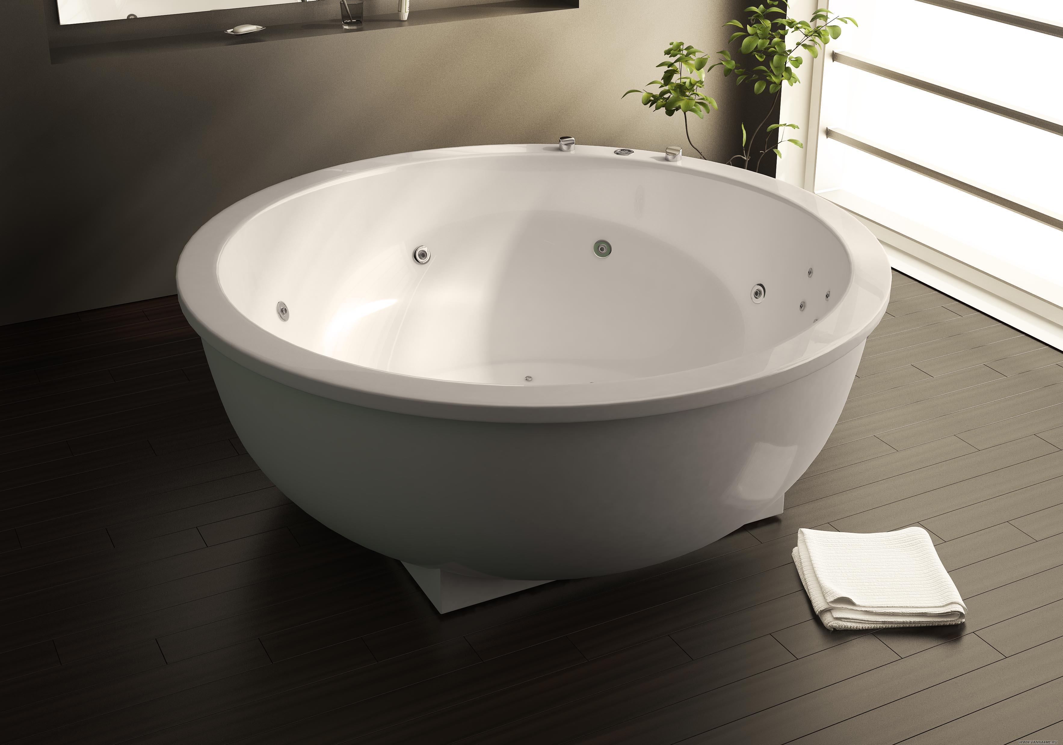 Quel bain choisir: matériau, taille, fabricant