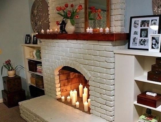 cheminée en placoplâtre 6
