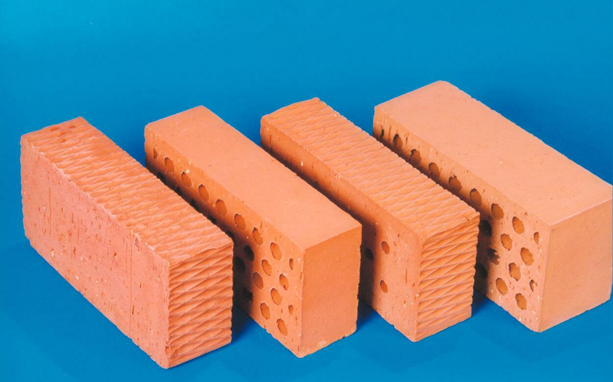 types de briques en céramique