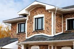 brique pour la façade de la maison