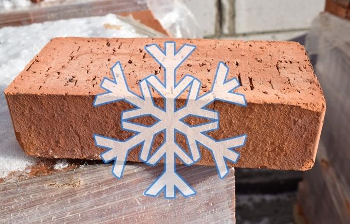 résistance au gel des briques