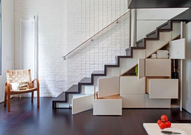 10 conseils pour décorer et éclairer un escalier dans une maison privée + photo