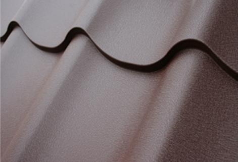 polyester mat pour carreaux métalliques