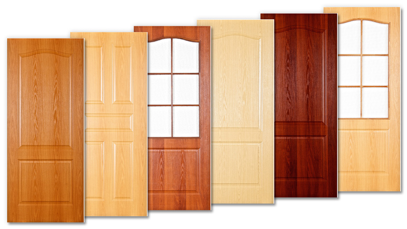stratifié de porte intérieure