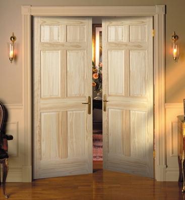 porte intérieure battante
